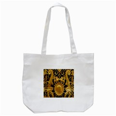 Golden Sun Tote Bag (white) by Amaryn4rt