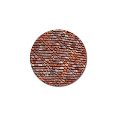 Roof Tiles On A Country House Golf Ball Marker by Amaryn4rt