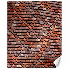 Roof Tiles On A Country House Canvas 16  X 20
