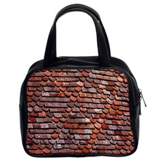 Roof Tiles On A Country House Classic Handbags (2 Sides) by Amaryn4rt