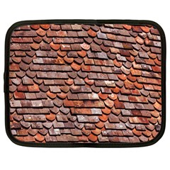 Roof Tiles On A Country House Netbook Case (xl)  by Amaryn4rt