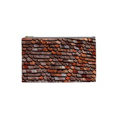 Roof Tiles On A Country House Cosmetic Bag (small)  by Amaryn4rt