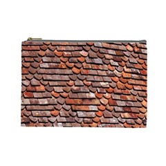 Roof Tiles On A Country House Cosmetic Bag (large)  by Amaryn4rt
