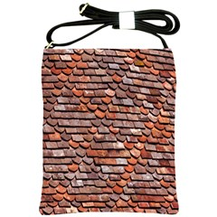 Roof Tiles On A Country House Shoulder Sling Bags by Amaryn4rt