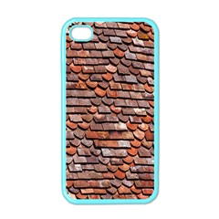 Roof Tiles On A Country House Apple Iphone 4 Case (color) by Amaryn4rt