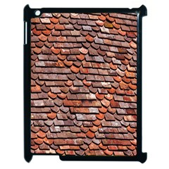 Roof Tiles On A Country House Apple Ipad 2 Case (black) by Amaryn4rt