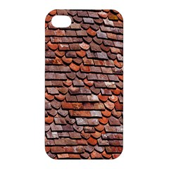 Roof Tiles On A Country House Apple Iphone 4/4s Hardshell Case by Amaryn4rt