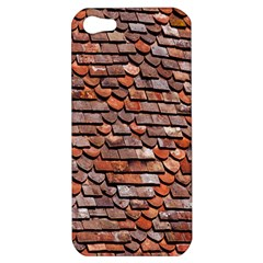 Roof Tiles On A Country House Apple Iphone 5 Hardshell Case by Amaryn4rt