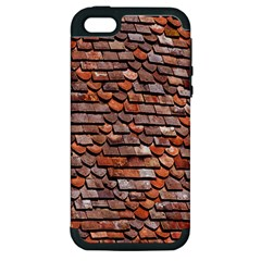 Roof Tiles On A Country House Apple Iphone 5 Hardshell Case (pc+silicone) by Amaryn4rt