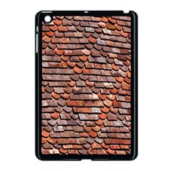 Roof Tiles On A Country House Apple Ipad Mini Case (black) by Amaryn4rt