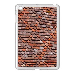 Roof Tiles On A Country House Apple Ipad Mini Case (white) by Amaryn4rt