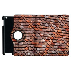 Roof Tiles On A Country House Apple Ipad 3/4 Flip 360 Case by Amaryn4rt