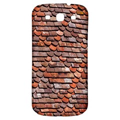 Roof Tiles On A Country House Samsung Galaxy S3 S Iii Classic Hardshell Back Case by Amaryn4rt