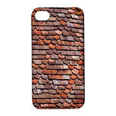 Roof Tiles On A Country House Apple Iphone 4/4s Hardshell Case With Stand by Amaryn4rt