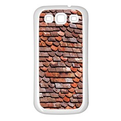 Roof Tiles On A Country House Samsung Galaxy S3 Back Case (white) by Amaryn4rt