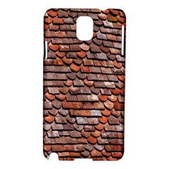 Roof Tiles On A Country House Samsung Galaxy Note 3 N9005 Hardshell Case by Amaryn4rt