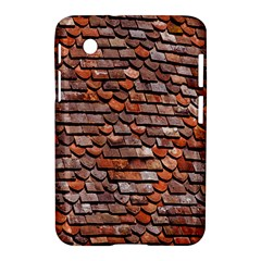 Roof Tiles On A Country House Samsung Galaxy Tab 2 (7 ) P3100 Hardshell Case  by Amaryn4rt