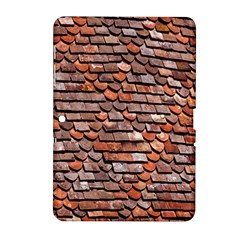 Roof Tiles On A Country House Samsung Galaxy Tab 2 (10 1 ) P5100 Hardshell Case  by Amaryn4rt