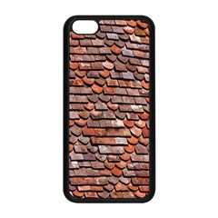 Roof Tiles On A Country House Apple Iphone 5c Seamless Case (black) by Amaryn4rt