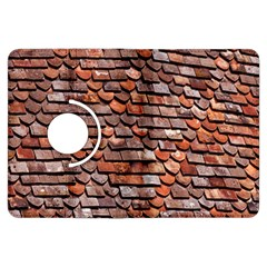 Roof Tiles On A Country House Kindle Fire Hdx Flip 360 Case by Amaryn4rt