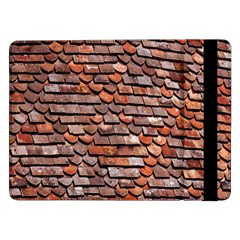 Roof Tiles On A Country House Samsung Galaxy Tab Pro 12 2  Flip Case by Amaryn4rt
