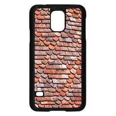 Roof Tiles On A Country House Samsung Galaxy S5 Case (black) by Amaryn4rt