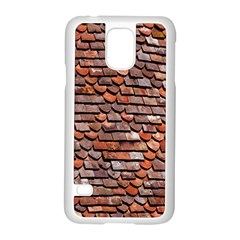Roof Tiles On A Country House Samsung Galaxy S5 Case (white) by Amaryn4rt