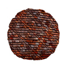 Roof Tiles On A Country House Standard 15  Premium Flano Round Cushions by Amaryn4rt