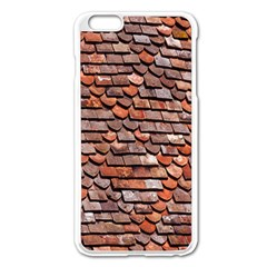 Roof Tiles On A Country House Apple Iphone 6 Plus/6s Plus Enamel White Case by Amaryn4rt