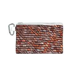 Roof Tiles On A Country House Canvas Cosmetic Bag (s) by Amaryn4rt