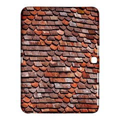 Roof Tiles On A Country House Samsung Galaxy Tab 4 (10 1 ) Hardshell Case  by Amaryn4rt