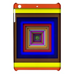 Square Abstract Geometric Art Apple Ipad Mini Hardshell Case by Amaryn4rt