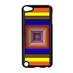 Square Abstract Geometric Art Apple Ipod Touch 5 Case (black) by Amaryn4rt