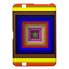 Square Abstract Geometric Art Kindle Fire Hd 8 9  by Amaryn4rt