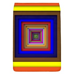 Square Abstract Geometric Art Flap Covers (s)  by Amaryn4rt