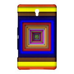 Square Abstract Geometric Art Samsung Galaxy Tab S (8 4 ) Hardshell Case  by Amaryn4rt