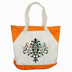 Damask Decorative Ornamental Accent Tote Bag by Amaryn4rt