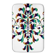 Damask Decorative Ornamental Samsung Galaxy Note 8 0 N5100 Hardshell Case  by Amaryn4rt