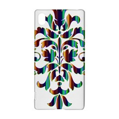 Damask Decorative Ornamental Sony Xperia Z3+ by Amaryn4rt