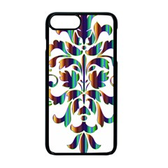 Damask Decorative Ornamental Apple Iphone 7 Plus Seamless Case (black) by Amaryn4rt
