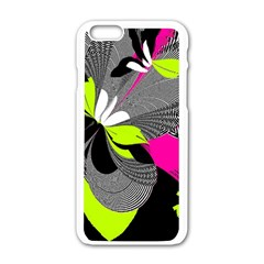 Nameless Fantasy Apple Iphone 6/6s White Enamel Case by Amaryn4rt