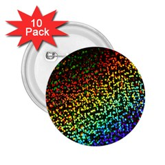 Construction Paper Iridescent 2 25  Buttons (10 Pack)  by Amaryn4rt