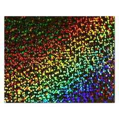 Construction Paper Iridescent Rectangular Jigsaw Puzzl by Amaryn4rt