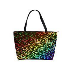 Construction Paper Iridescent Shoulder Handbags by Amaryn4rt