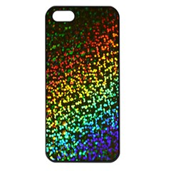 Construction Paper Iridescent Apple Iphone 5 Seamless Case (black) by Amaryn4rt