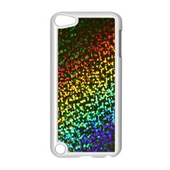 Construction Paper Iridescent Apple Ipod Touch 5 Case (white) by Amaryn4rt