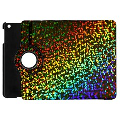 Construction Paper Iridescent Apple Ipad Mini Flip 360 Case by Amaryn4rt