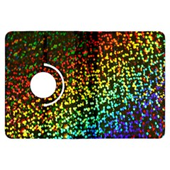 Construction Paper Iridescent Kindle Fire Hdx Flip 360 Case by Amaryn4rt