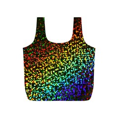 Construction Paper Iridescent Full Print Recycle Bags (s)  by Amaryn4rt