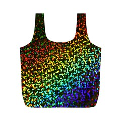 Construction Paper Iridescent Full Print Recycle Bags (m)  by Amaryn4rt